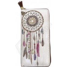 Dámská peněženka s indiánským vzorem lapač snů