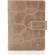 Castelijn & Beerens Dámská kožená peněženka RFID 465415 TA taupe