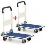 Přepravní vozík B2B Partner se sklopným madlem 1+1 Zdarma