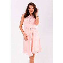 f03c107c6 Eva & Lola krátké vypasované šaty růžová