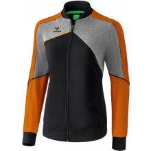 Erima Premium One 2.0 bunda černá oranžová