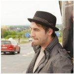 Karpet Pánský vlněný klobouk s malou krempou černá 884990 0b53071284
