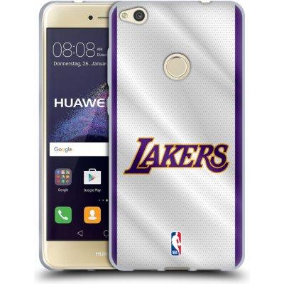 Pouzdro HEAD CASE Huawei P8 LITE 2017 / P8 LITE 2017 DUAL SIM NBA Basketbalový klub Los Angeles Lakers dres