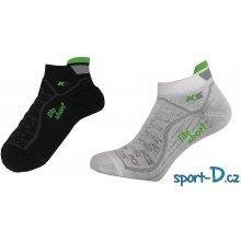 Pondy KS-Lite nízké funkční ponožky bílé a černé b9aac93dac