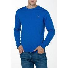 Gant Pánský svetr COTTON WOOL CREW modrá M