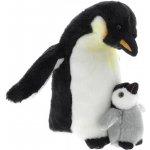 Plyš Tučňák s mládětem 27 cm UNI Toys