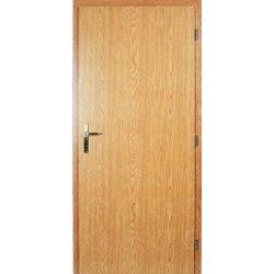 Masonite interiérové dveře Plné kašír dub 60 cm