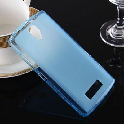 Pouzdro SES Silikonové mléčné ochranné Lenovo A2010 Dual SIM - modré
