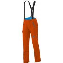 Mammut Eisfeld pánské softshellové kalhoty oranžové