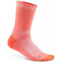 Craft Visible ponožky oranžová 9c25a85977