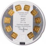 Argo Heraeus Zlatý slitek Gold Seed 10 x 1 g