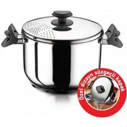 Sada nádobí HASCEVHER Nerezový hrnec na těstoviny / špagety ¤ 24cm / 7l / výška 16cm