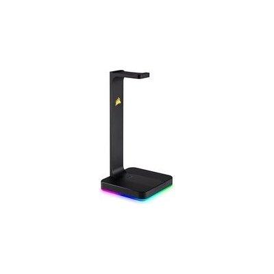 Corsair držák sluchátek ST100 RGB, 7.1 zvuková karta, USB 3.1 hub CA-9011167-EU
