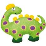 Dinosaurus zelený 33 x 28 cm