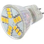 Lighting LED žárovka 3W 12V MR11 210lm 15 SMD 5630 Teplá bílá