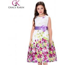 b9d85528fe0 GRACE KARIN Dívčí letní šaty na svatbu fialová alternativy - Heureka.cz