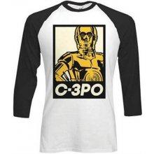 Tričko Star Wars C-3PO dlouhým rukávem