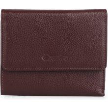 Esquire Dámská kožená peněženka 127805 vínová