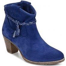 Betty London kotníkové kozačky EGATARE modré