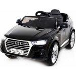 Beneo Elektrické autíčko Audi Q7 Quattro EVA kola 12V 2,4 GHz DO 2XMOTOR černé ORGINAL licence