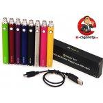 KangerTech Baterie eGo EVOD USB 1000mAh stříbrná