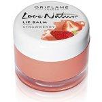 Oriflame Love Nature Jahodový balzám na rty 7 g