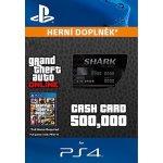 Grand Theft Auto Online Bull Shark Cash Card 500,000$