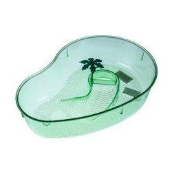 Terárium Shopakva Terárium pro želvy s palmou světle zelené