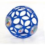 Oball Rattle chrastítko ohebné 10 cm modré