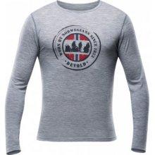 Devold Breeze Man Shirt Grey Melange