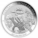 Kookaburra Investiční stříbro - stříbrná mince 10 AUD Australian Ledňáček 10 Oz 2019