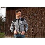 9e181139d4d Westernová košile káro pánská dl.rukáv Brian
