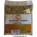 Přírodní pečivo Elšíková Bio Konopná semínka loupaná 100 g