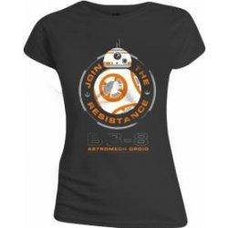Dámská Trička Star Wars – Dámské tričko BB-8 Droid 6304bcb8e3