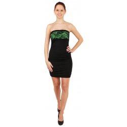 Top Mode Dámské společenské šaty s krajkou party šaty zelená 12SY050 ... aaeaa53f47