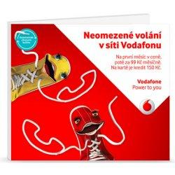 Predplacena Sim Karta Vodafone Neomezene V Siti Vodafone 500 Mb Na