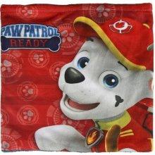 Sametový chlapecký podzimní / zimní nákrčník Paw Patrol / Tlapková patrola Chase a Marshall