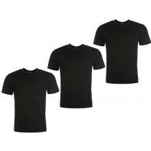 Donnay 3 Pack T Shirts Mens Black