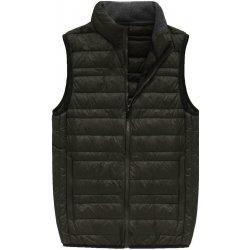 877dfdc53 Pánská vesta pánská vesta s přírodní vycpávkou 5008 khaki