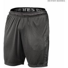 e7fb9cd7582 Better Bodies LOOSE FUNction shorts dark grey šortky Better Bodies tmavě  šedé