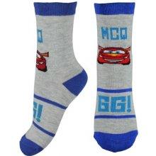 E plus M Chlapecké ponožky Cars - šedé