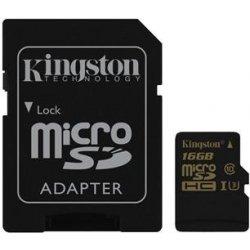 Kingston microSDHC 16GB UHS-I U3 SDCG/16GB