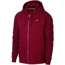 2af405f2176 Nike Sportswear mikina s kapucí NSW OPTIC HOODIE FZ červená