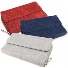 Praktická dámská peněženka z ekokůže Béžová cae7bf3443