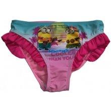 Sun city Dívčí plavky Mimoni růžovéZ