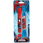 EUROSWAN Dětská LED svítilna, baterka a propiska 2v1 Spiderman 2 ks