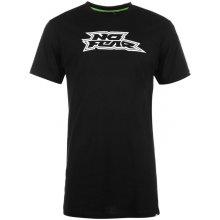 No Fear Long T Shirt Mens Black