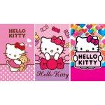 Sada dětských ručníčků Detexpol Hello Kitty bavlna froté 30x50 cm 3ks