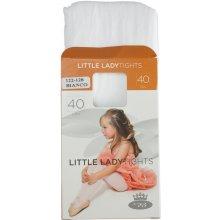 BOMA Dívčí punčochové kalhoty silonky II Bílá