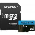 ADATA microSDHC 16GB UHS-I AUSDH16GUICL10A1-RA1